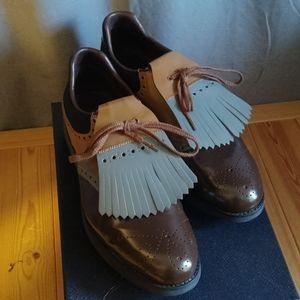 Prada Men's Golf Shoes Wingtip 10.5UK 11.5US